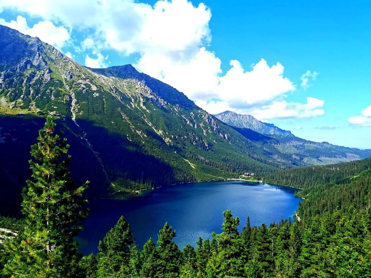 Tatry i jezioro