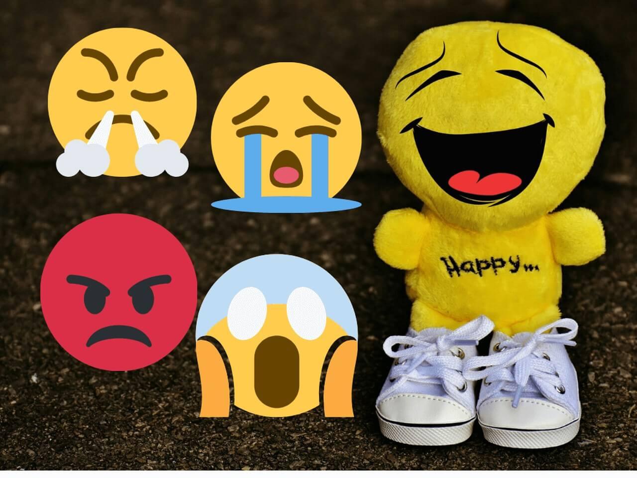 Emotikony emocji